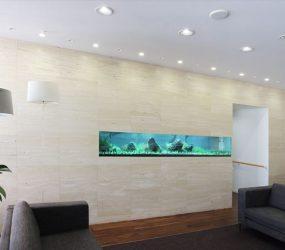 淡水魚水槽 3m 兵庫県川西市 クリニック様サムネイル画像